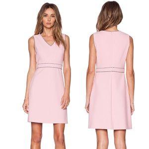 $398 Diane Von Furstenberg LeeLou Pink Ice Dress